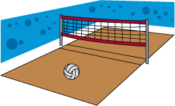 PNG Volleyball Court - 54410