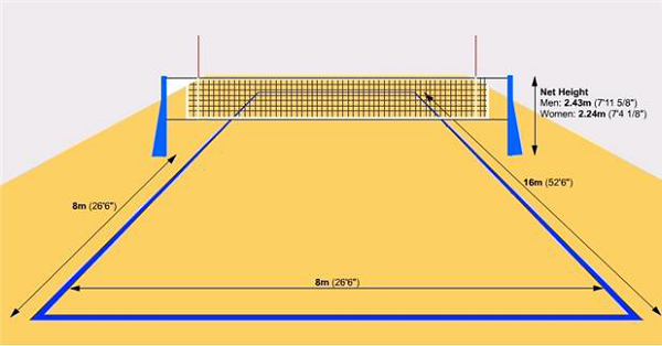 PNG Volleyball Court - 54419