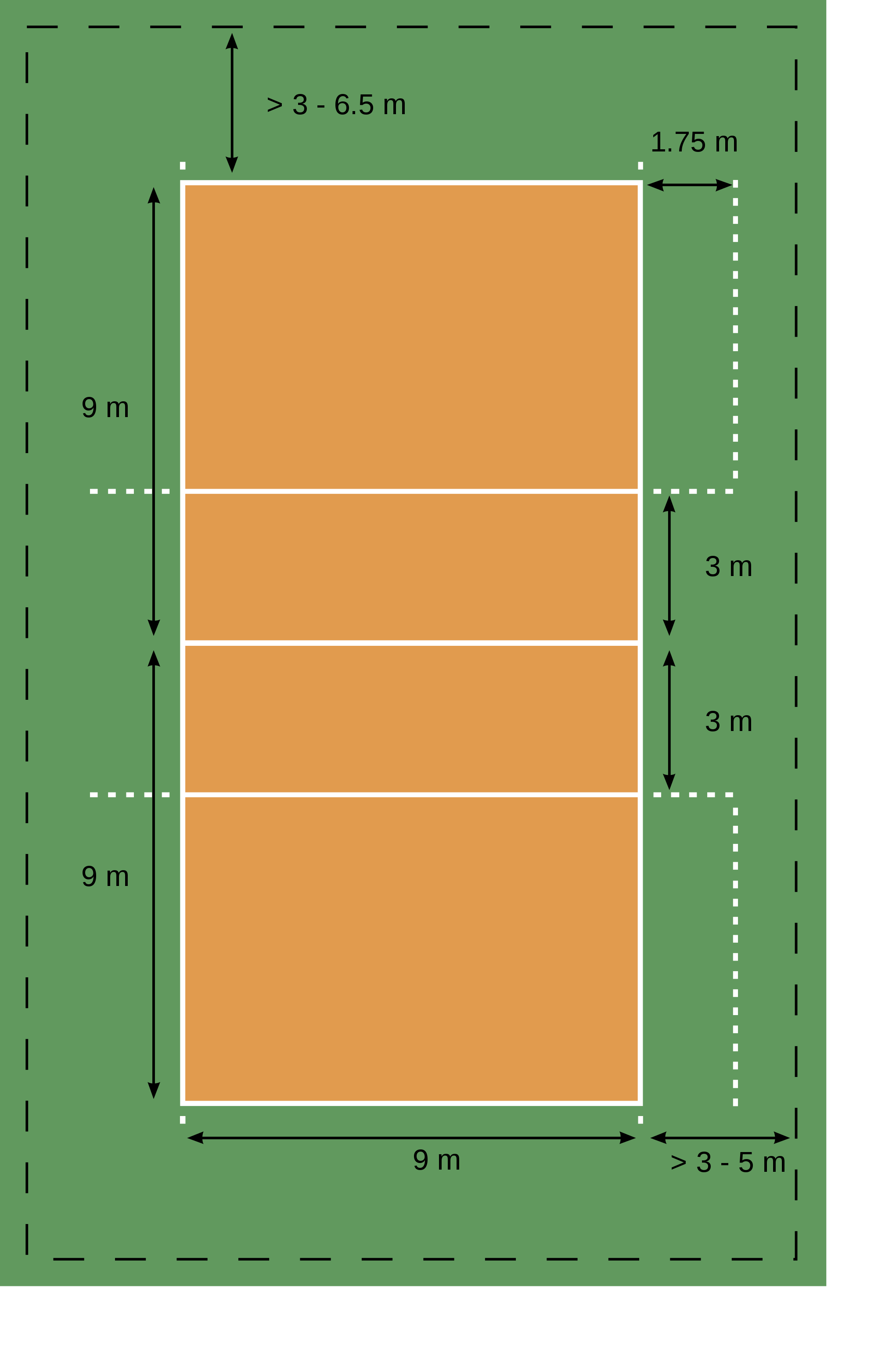 PNG Volleyball Court - 54409