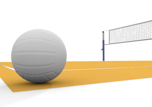 PNG Volleyball Court - 54413