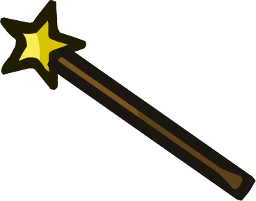 Star Wand.png - PNG Wand