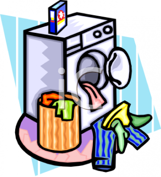 PNG Washing Clothes - 55689
