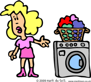 Clean Clothes Clipart - PNG Washing Clothes