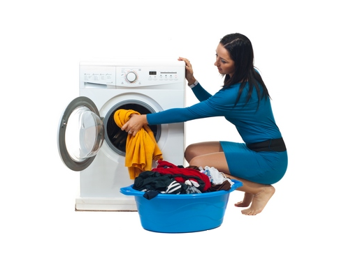 PNG Washing Clothes - 55679