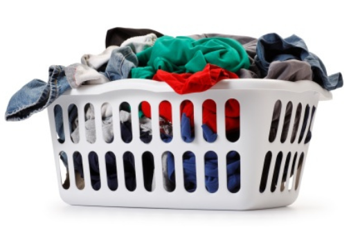 Someone else takes care of that - PNG Washing Clothes