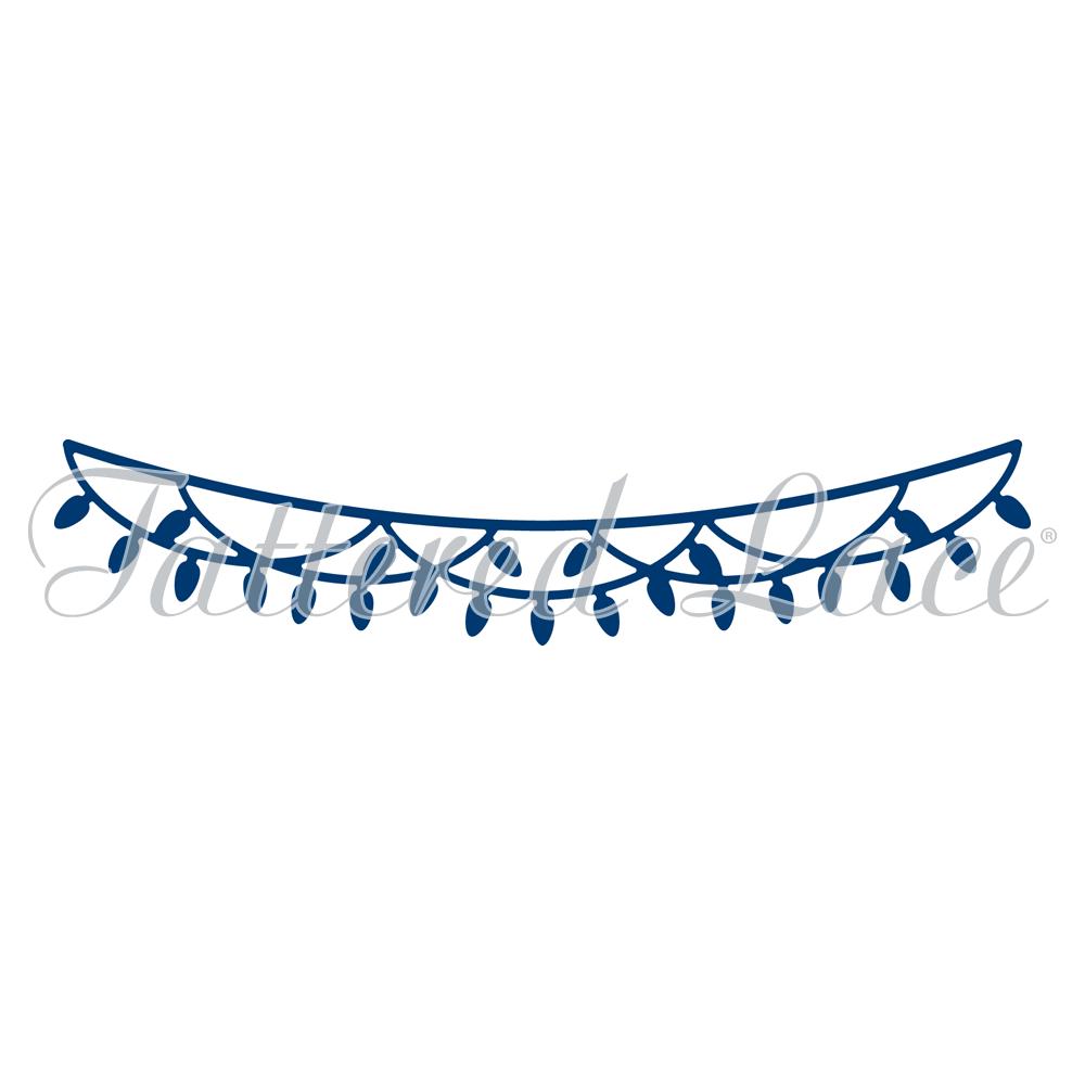 Christmas Lights Washing Line (D865) - PNG Washing Line