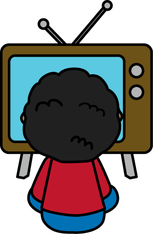 Watching tv kids watch tv clipart pluspng - PNG Watching Tv