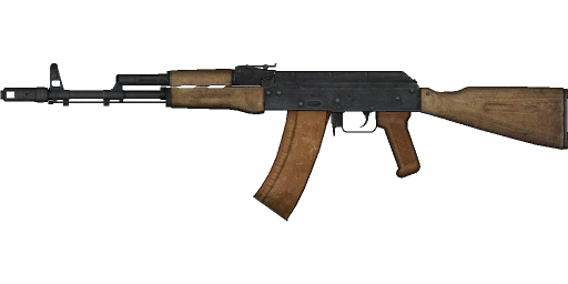 File:Weapon AK74.png - PNG Weapon