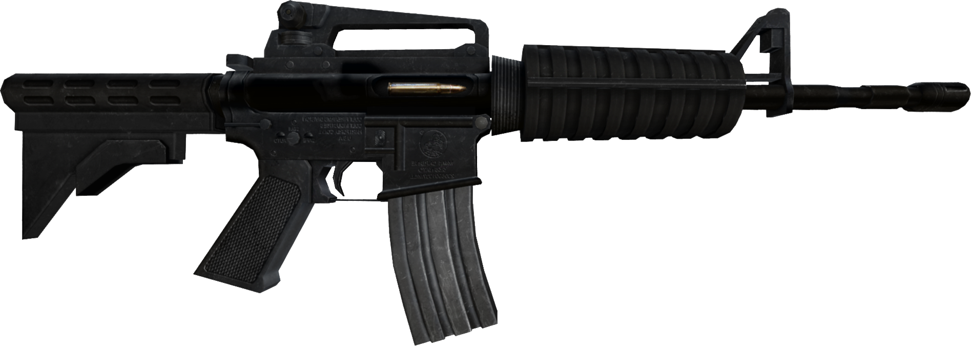 Image - Zewikia weapon assaultrifle m4a1 css.png | Zombie Escape Wiki |  FANDOM powered by Wikia - PNG Weapon