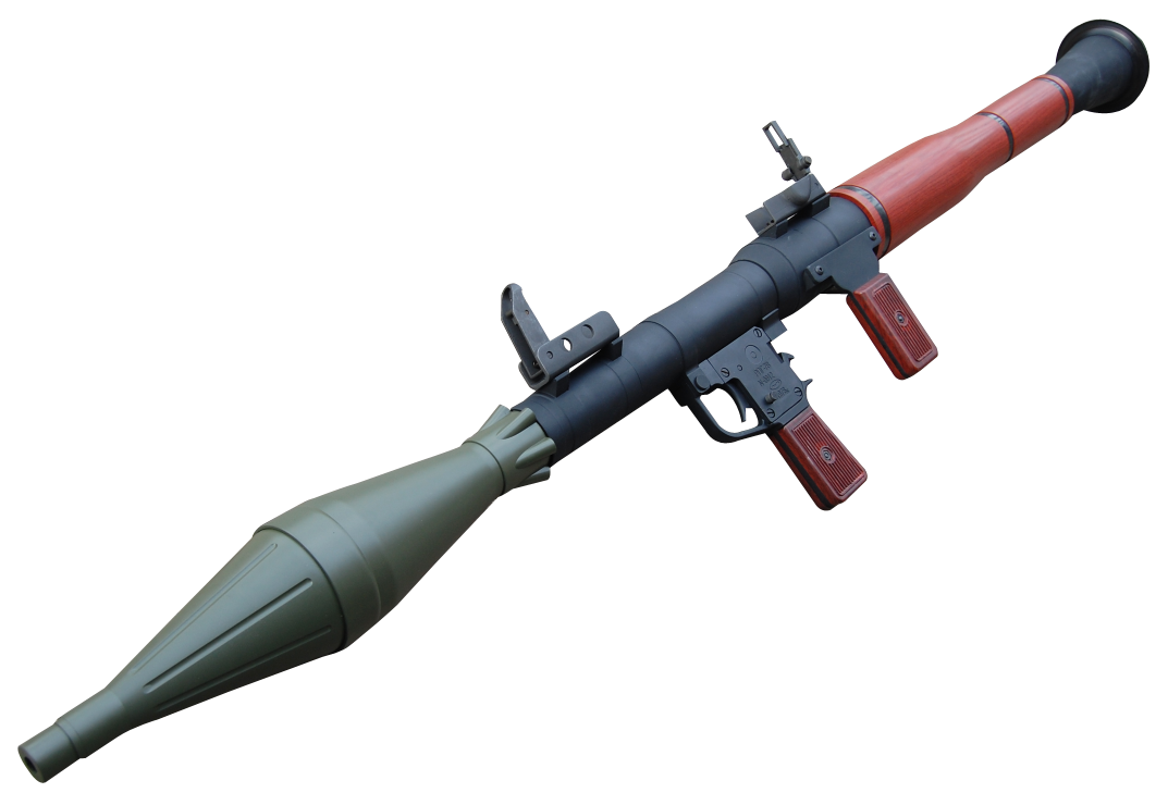 RPG Gun PNG Transparent Image - PNG Weapon