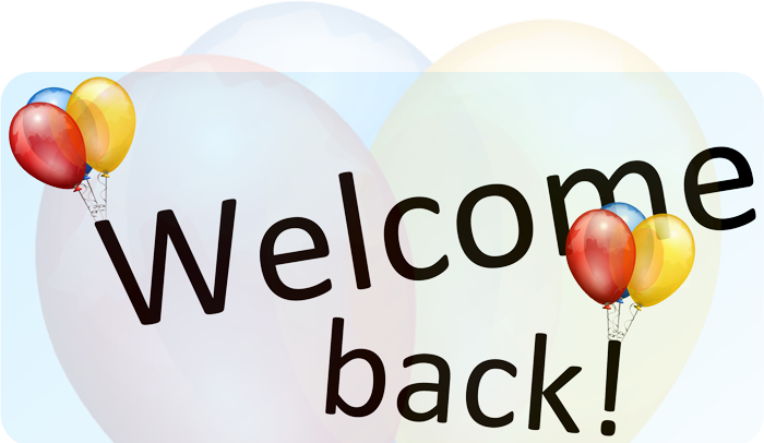 PNG Welcome Back - 55288