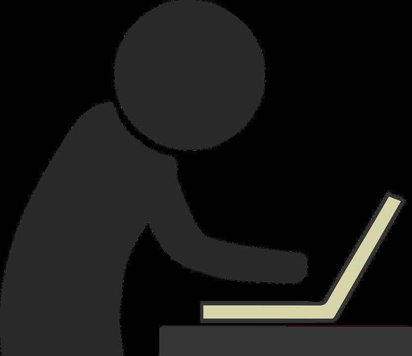 Werken, Computer, Stok Persoon, Kantoor, Business - PNG Werken