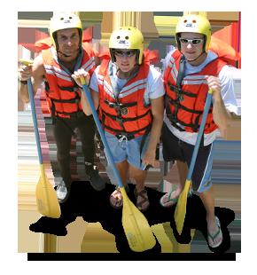 PNG White Water Rafting - 53741