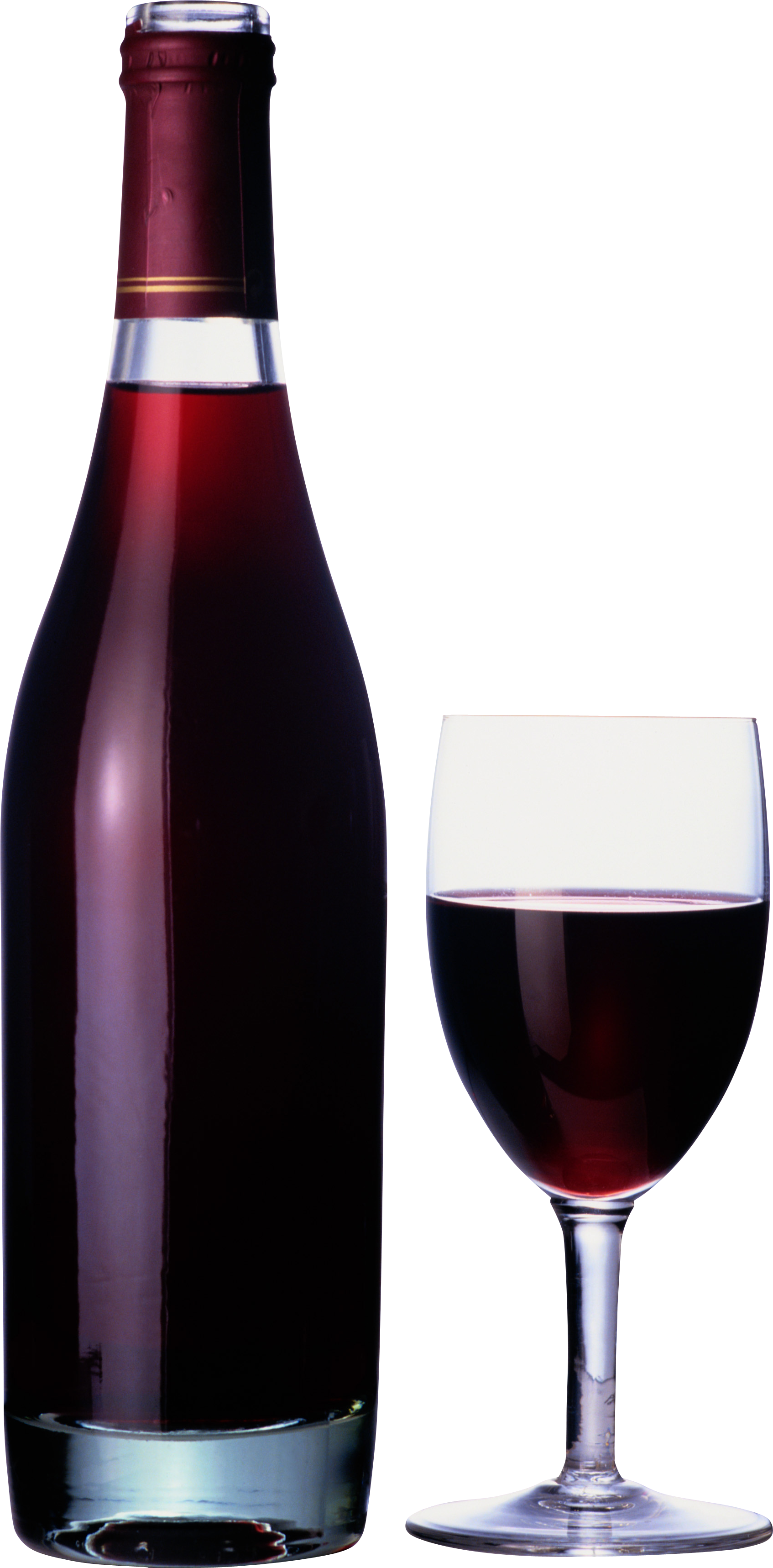 PNG Wine Bottle And Glass