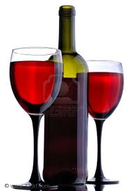 PNG Wine Bottle And Glass - 53506