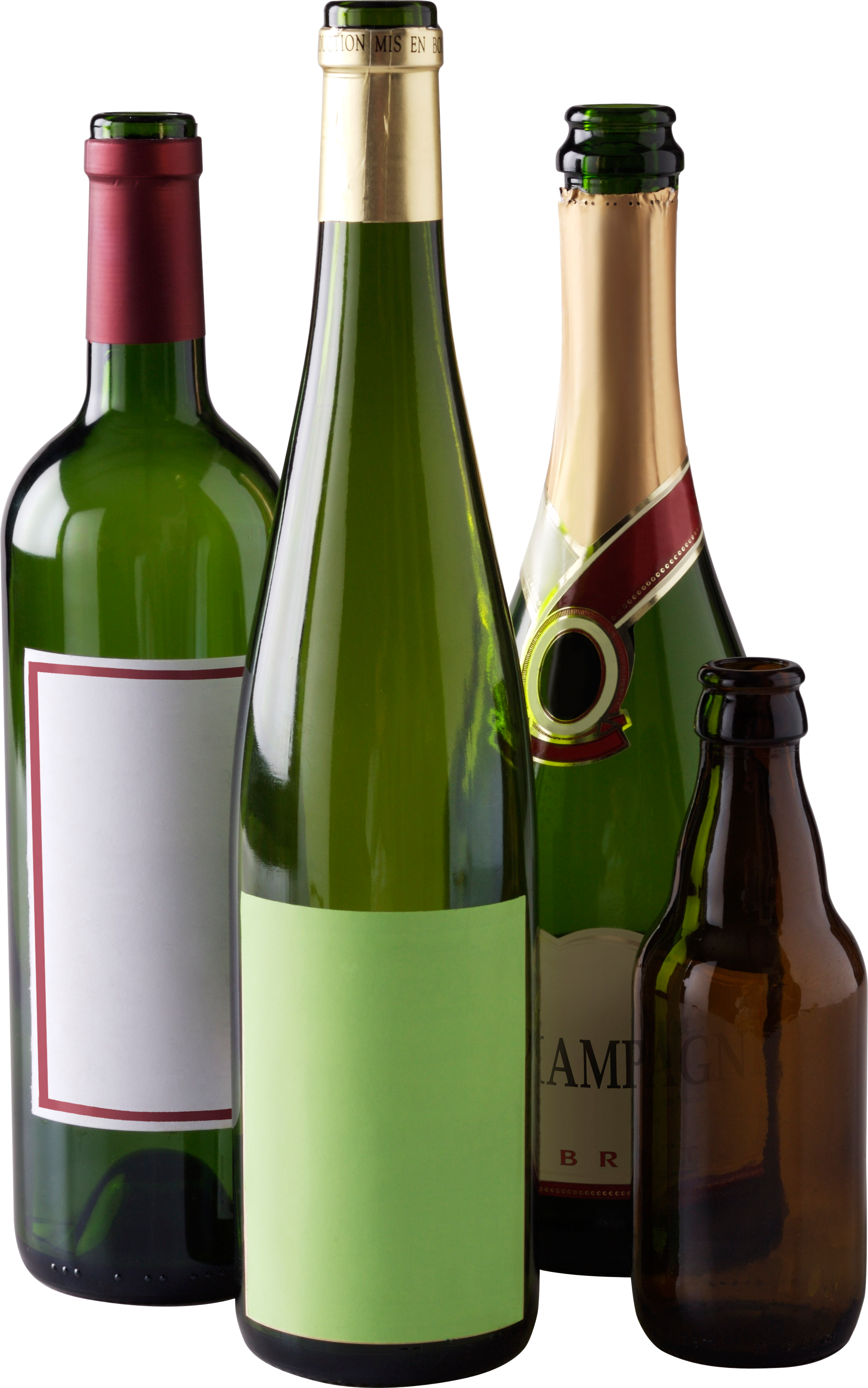 PNG Wine Bottle And Glass - 53501