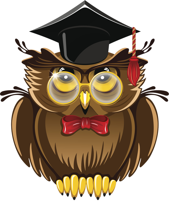wise owl clipart u2013 item - PNG Wise Owl
