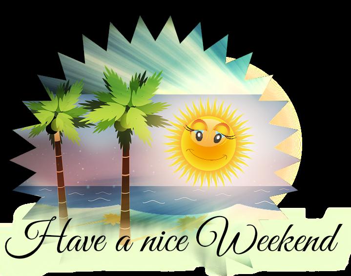 Machts gut, passt auf euch auf, liebste Grüße eure Leseratten Petra und  Karl ♥ - PNG Wochenende