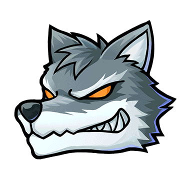 PNG Wolf Head - 42053