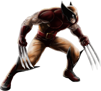 File:Wolverine-Brown and Tan-iOS.png - PNG Wolverine