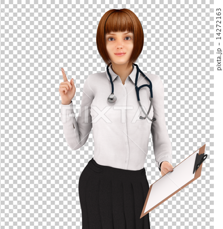 PNG Woman Doctor - 41078