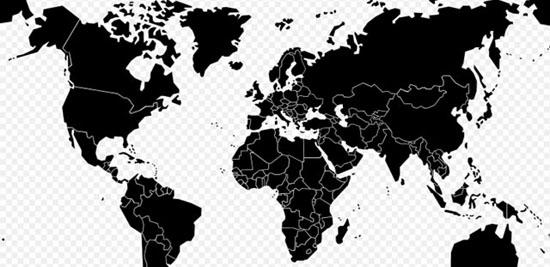 Digital Vector World PlusPng.com  - PNG World Map