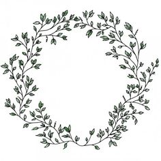 PNG Wreath Black And White - 41085