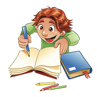 . PlusPng.com Creative Writer.png PlusPng.com  - PNG Writing Kids