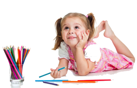 Kids Learning Transparent Background - PNG Writing Kids
