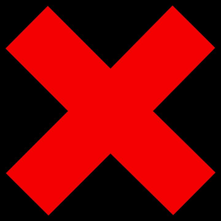 PNG Wrong Cross - 40954