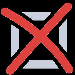 Wrong Icon - PNG Wrong Cross