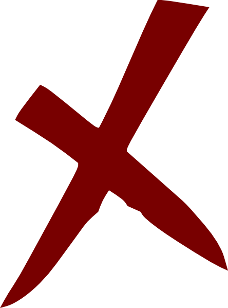 X Wrong No Cross - PNG Wrong Cross