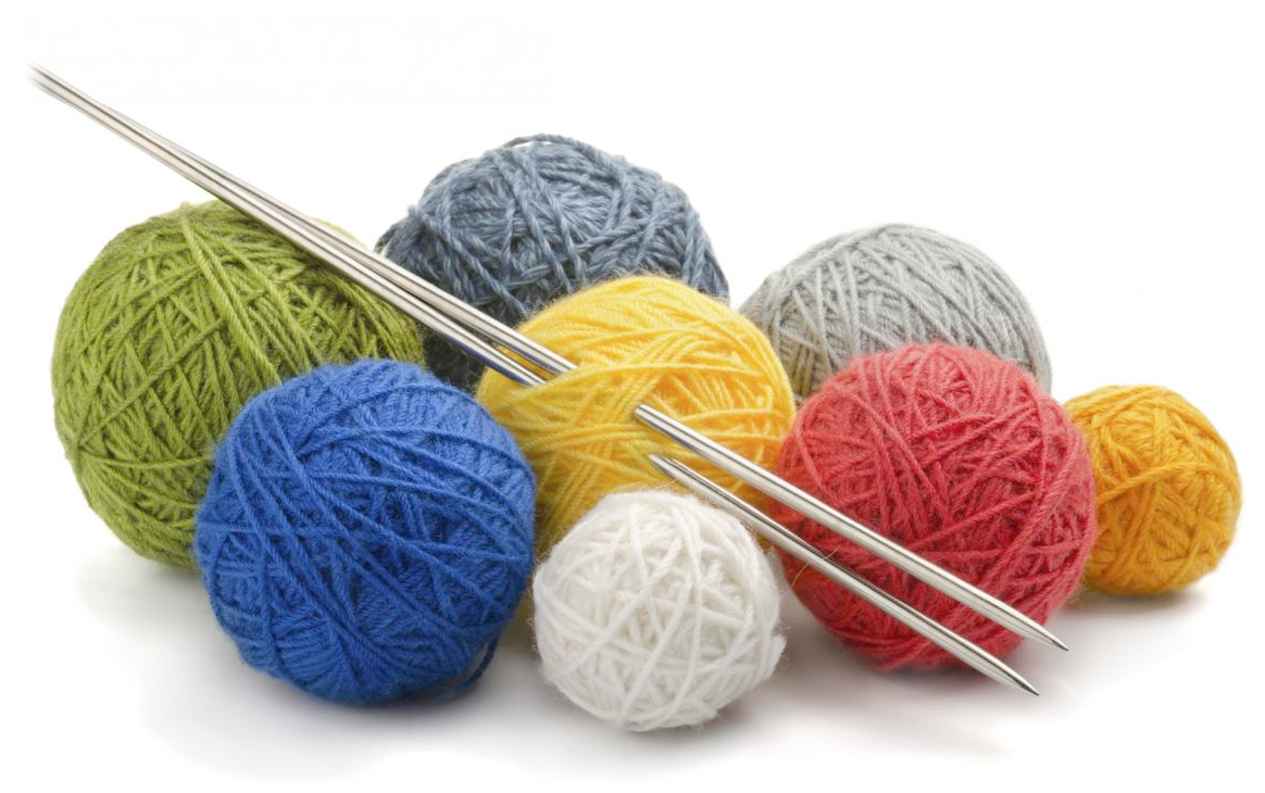 Knitting Images Hd : Png yarn and knitting needles transparent
