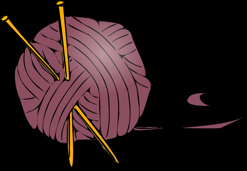 PNG Yarn And Knitting Needles - 41538