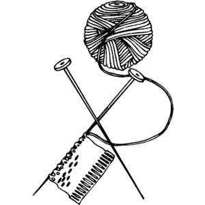 PNG Yarn And Knitting Needles - 41525