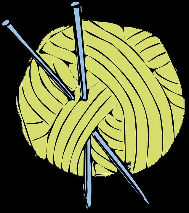 Knitting Needles Png : Png yarn and knitting needles transparent