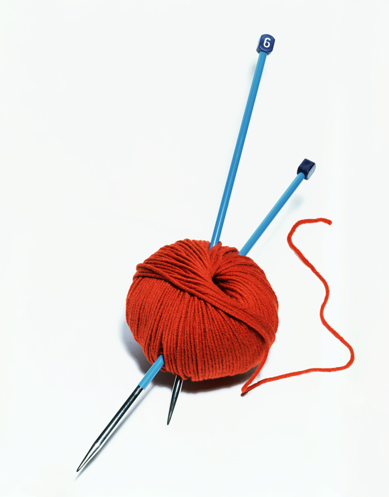 PNG Yarn And Knitting Needles - 41539