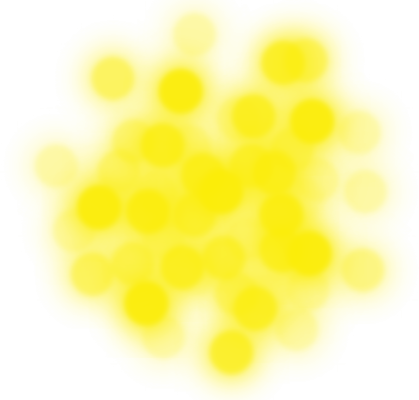 Bokeh png amarillo by Andreituu PlusPng.com  - PNG Yellow