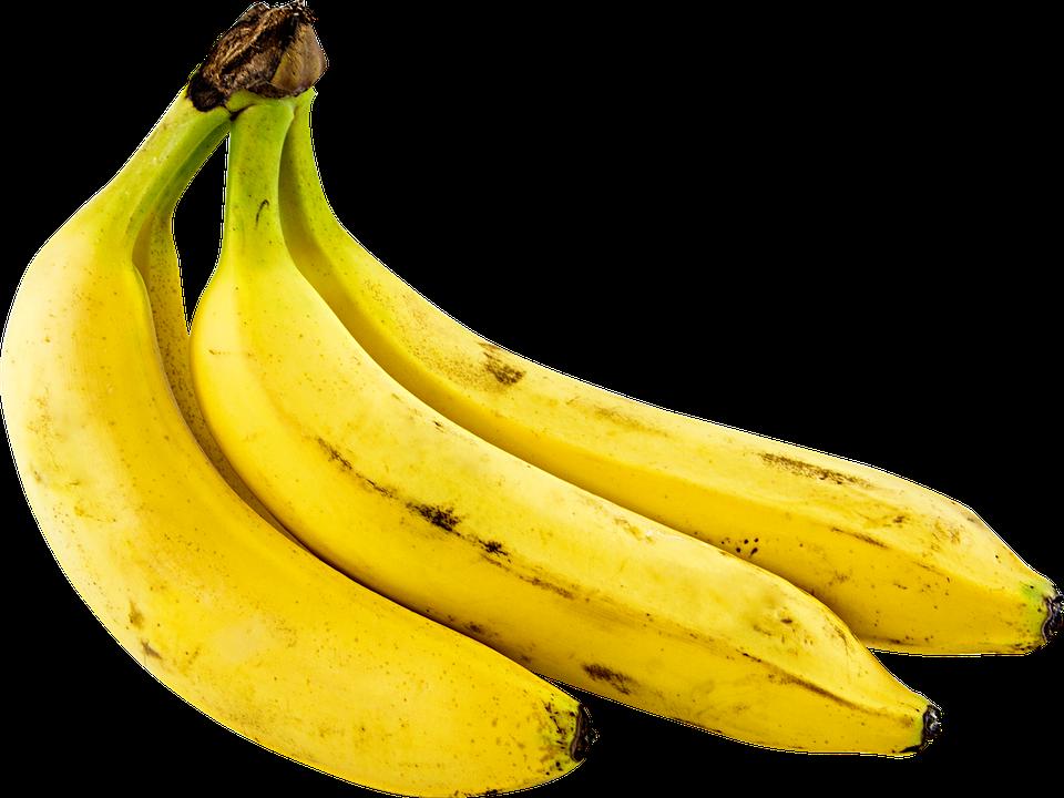 Fruit, Bananas, Png, Yellow, Cutout, Transparent, Musa - PNG Yellow
