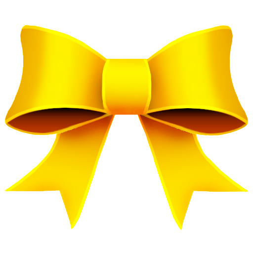 Ribbon Yellow Icon 512x512 png - PNG Yellow