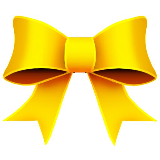 Ribbon Yellow Icon 512x512 png - PNG Yellow