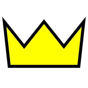 Yellow Crown Png Clip Art - PNG Yellow