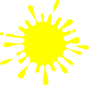 Yellow Splash Ink Clip Art - PNG Yellow