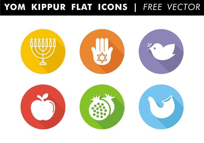 Yom Kippur Flat Icons Free Vector - PNG Yom Kippur