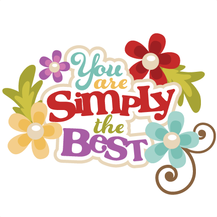 Youu0027re Done Cliparts - PNG Youre The Best