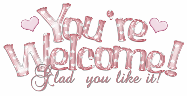 Clipartst Youu0027re Welcome; Glitter Graphics: the community for graphics  enthusiasts! - PNG Youre Welcome