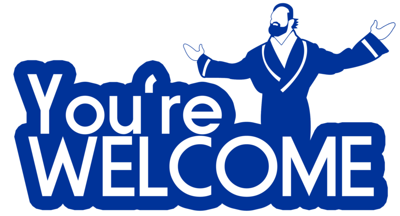 Damien Sandow - Youu0027re Welcome by HeavyMetalGear PlusPng.com  - PNG Youre Welcome
