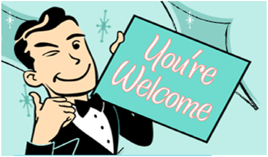 YOUu0027RE WELCOME! BUTTON MOBILE App - PNG Youre Welcome