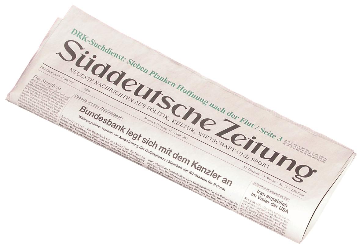 Süddeutsche Zeitung u2013 Quantified-Self - PNG Zeitung