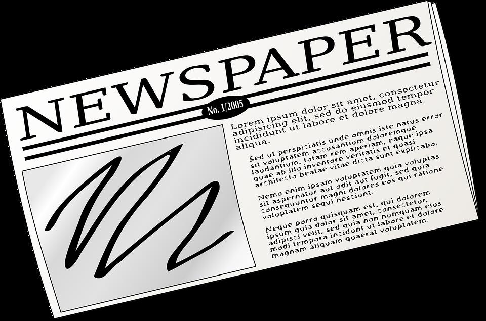 Zeitung, Drücken, Informationen, Nachrichten, Papier - PNG Zeitung